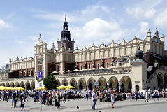 Cloth Hall of Krakow in Poland Royalty Free Stock Images