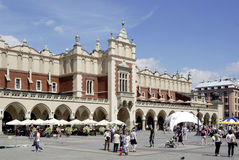 Cloth Hall of Krakow in Poland Royalty Free Stock Photography