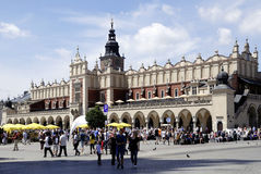 Cloth Hall of Krakow in Poland Stock Photography