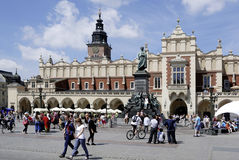 Cloth Hall of Krakow in Poland Royalty Free Stock Photo