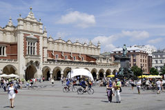 Cloth Hall of Krakow in Poland Royalty Free Stock Image