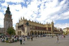 Cloth Hall in Krakow Royalty Free Stock Photo