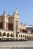 Cloth Hall on Main Market Square in sunny day, Krakow, Poland Stock Photo