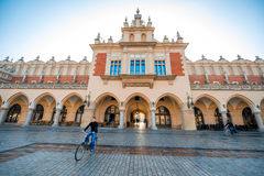 Cloth Hall on the Market square in Krakow Stock Photos
