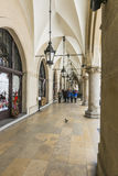 Cloth Hall  sukiennice in Krakow Royalty Free Stock Photo
