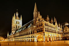 The Cloth Hall at Ypres Royalty Free Stock Photography