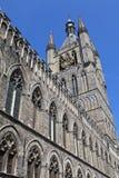 Cloth Hall in Ypres, Belgium Stock Photo