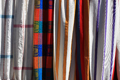 Cloth Hammocks in Otavalo Stock Photos
