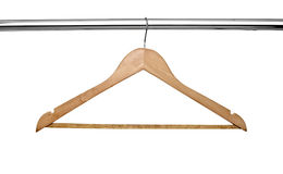 Cloth hangers Stock Photography
