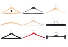 Cloth hangers Stock Image