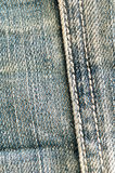 Cloth jeans stripes Stock Photography