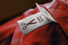 Cloth label Stock Photos