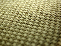 Cloth Macro. A detailed image of a textile weave Royalty Free Stock Photography
