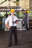 Cloth manufacturing manager Stock Photography