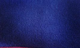 Cloth micro polar blue texture details stock photography