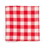 Cloth napkin on white background Royalty Free Stock Photos