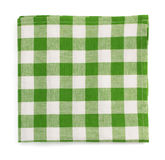 Cloth napkin on white background Stock Photography