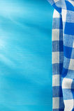 Cloth napkin on wood Royalty Free Stock Photography