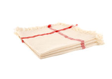 Cloth napkins Royalty Free Stock Photos
