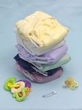 Cloth Nappies Royalty Free Stock Photos