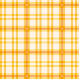 Cloth with orange pattern Stock Photo