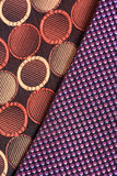 Cloth patterns Stock Photography