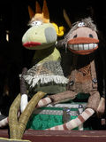 Cloth Puppets Royalty Free Stock Photography