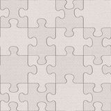 Cloth puzzles - seamless background - cloth paneling Stock Images