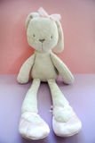Cloth rabbit Royalty Free Stock Images