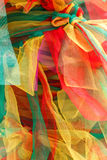 Cloth red and Yellow Stock Image
