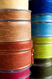 Cloth ribbon. Close up shot of decorative cloth ribbon Stock Image