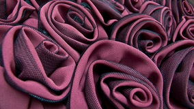 Cloth Rose decoration Royalty Free Stock Photo