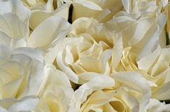 Cloth Roses Stock Images