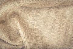 The cloth a sacking. Stock Photos