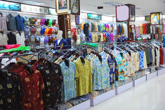 Cloth shop Royalty Free Stock Images