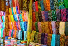 Cloth shop in Bali Stock Photo