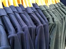 Cloth shop Stock Images