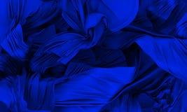 Blue silk Stock Image