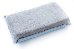 Cloth sponge car wash Stock Photo