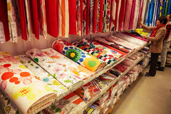 Fashion cloth store clothes retail shop supermarket Stock Photo