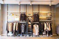 Cloth store Royalty Free Stock Photo