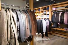 Cloth store Stock Photos