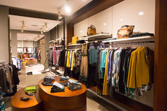 Cloth store Stock Images