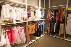 Cloth store Stock Photo