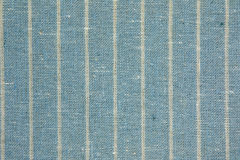 Cloth texture. Blue cloth with white line texture background Royalty Free Stock Image