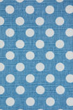 Cloth texture. Cloth with circle pattern texture background Stock Image