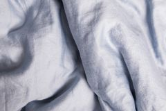 Cloth texture close-up. Bed linen texture close-up. Cloth background royalty free stock photos