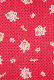 Cloth texture. Flower pattern cloth texture background Royalty Free Stock Photography