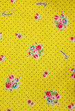 Cloth texture. Flower pattern cloth texture background Stock Photography