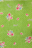 Cloth texture. Flower pattern cloth texture background Stock Image